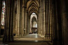 inside the cathedral of Cologne
