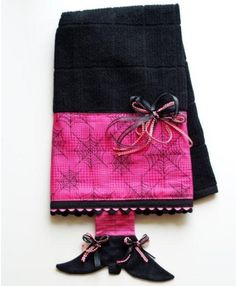 How to decorate a towel