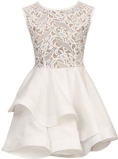 Lace Meringue Dress