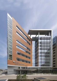 Architecture of Advocate Lutheran General Patient Care by OWP/P