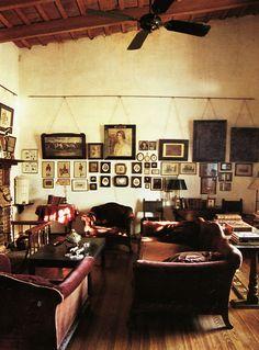 good old boy living room