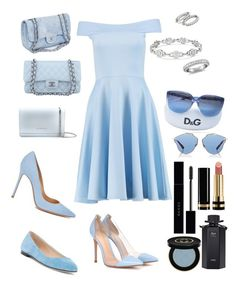 """Party💙"" by look-by-alina on Polyvore featuring мода, Boohoo, Givenchy, Chanel, Sergio Rossi, Gianvito Rossi, Blue Nile, Dolce&Gabbana, Christian Dior и Gucci"
