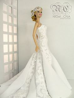 NiGel.ChiA a fashion design victim: 2010 Collection- Barbie Romance Couture