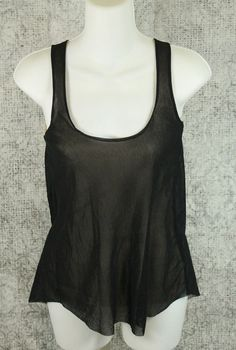 Anthropologie Sweet Pea Top Womens Size XS Black and Beige by Stacy Frati in Clothing, Shoes & Accessories, Women's Clothing, Tops & Blouses   eBay