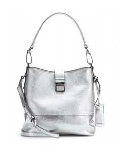 Miu Miu Metallic Leather Shoulder Bag - Lyst Metallic Leather 94251c7c30021