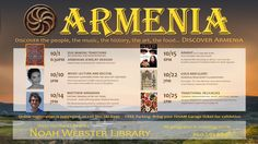 Upcoming programs on pinterest noah webster libraries for Armenian cuisine history