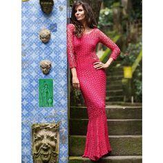Think Pink! Cris Pitanguy e seu vestido da nova coleção! #giovanadias #handmade