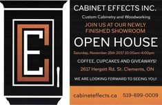 We would love to see you at our Open House! Mark it on your calendar, you wouldn't want to miss it! Custom Cabinetry, Open House, Calendar, Woodworking, Custom Closets, Made To Measure Wardrobes, Life Planner, Carpentry, Wood Working