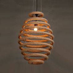 Quality Loft Vintage Rope Pendant Lights Industrial Lustre Round Pendant Lamp Bar Cafe Restaurant suspension luminaires hanglamp with free worldwide shipping on AliExpress Mobile Rope Pendant Light, Industrial Pendant Lights, Round Pendant, Pendant Lamps, Diy Luz, Natural Lamps, Cheap Lamps, Lampe Decoration, Cafe Restaurant