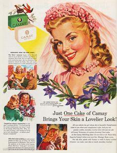 Camay Soap Ad