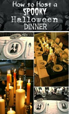 How to host an elegant and spooky Halloween dinner party