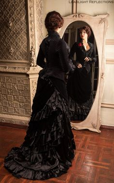 Costume robe victorienne. Veste et jupes par DressArtMystery