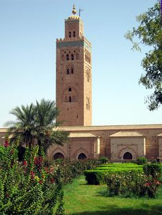 Minaret de Koutoubia - Marrakech - Maroc