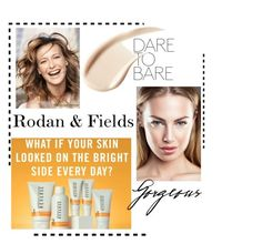 """Rodan and Fields"" by michellemibelle ❤ liked on Polyvore featuring beauty and Burberry"
