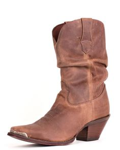 """Women's 10"""" Crush Sultry Slouch Boots - Distressed Sunset Brown"""
