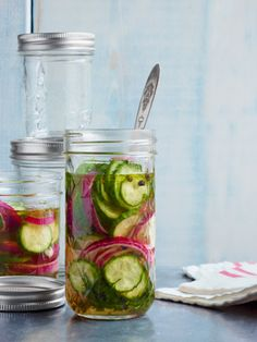 I'm a little pickle obsessed right now: Quick Sweet Pickles Recipe