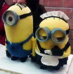 Tarta Minions / Minions Cake