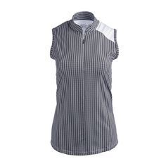 women's clothing, Angle Polo,  Sleeveless Shirt,  Bette & Court, ladies golf fashion, golf accessories- From the Red Tees