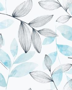 wallpapers watercolor - wallpapers water + wallpapers watercolor + wallpapers watermelon + wallpapers water the ocean + wallpapers waterfall + wallpapers watercolor flowers Art And Illustration, Illustration Inspiration, Inspiration Art, Watercolor Illustration, Watercolor Pattern, Pattern Painting, Pattern Illustration, Watercolor Flowers, Watercolor Paintings