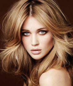 wintertyp haarfarbe karamell