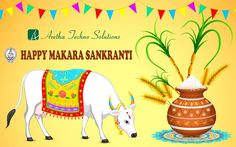 With Great Devotion, Fervour and Gaiety, With Rays of Joy and Hope Wish You & Your Family, Happy Makara Sankranti..