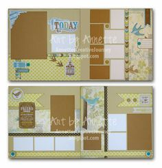 Annette's Creative Journey: March Kit of the Month (& February too)