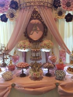 Royal/Princess themed Quinceanera | CatchMyParty.com