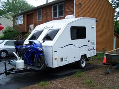 Small Toy Haulers Cargo Trailer Camper Utility Trailers Travel