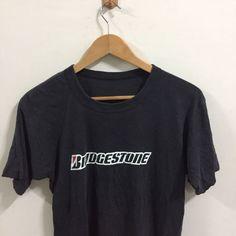 Vintage Bridgestone Logo  T-shirt Size Small    eBay