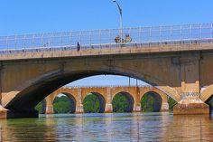 Albany Street Bridge, New Brunswick, NJ - Raritan River