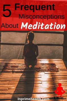 Meditating for beginners, benefits of meditation, how to meditate and many meditation misconceptions Meditation For Health, Meditation For Beginners, Meditation Benefits, Meditation Techniques, Chakra Meditation, Daily Meditation, Meditation Music, How To Start Meditating, Learn To Meditate