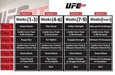 There are plenty of interesting fitness training programs around. They mostly focus on pushing your body hard and helping you burn more calories. The UFC Fit Workout Training Program is designed to change your lifestyle. You not only get to exercise MMA-style, but you also get to change your diet to see results faster, The
