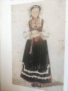 Folk Costume, Costumes, Old Photos, Norway, Painting, Art, Antique Photos, Dress Up Clothes, Vintage Photos
