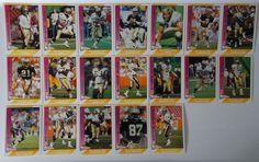 1991 Pacific New Orleans Saints Team Set of 19 Football Cards #NewOrleansSaints