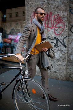 Уличная мода: Уличный стиль недели мужской моды в Милане сезона осень-зима 2016-2017