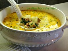 an affair from the heart: Olive Garden Night at Home! Zuppa Toscana, Salad and Breadsticks