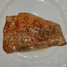 Rosemary, garlic, lime, and a big splash of sherry wine make a flavorful topping for baked arctic char. Chard Recipes, Fish Recipes, Seafood Recipes, Vegetarian Recipes, Baked Fish In Foil, Oven Baked Fish, Oven Cooking, Cooking Recipes, Arctic Char