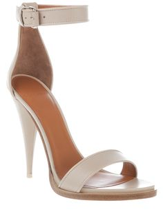 Gorgeous Cone Heel Sandals by Givenchy <3