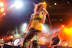 Paramore at the 2010 Bamboozle Music Festival #musicfestivals #paramore