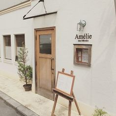 Cafe Shop Design, Store Design, House Design, Cafe Exterior, Exterior Design, Coffee Shop Aesthetic, Boutique Deco, Restaurant Design, Cafe Japan