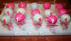 1st Birthday cakepops