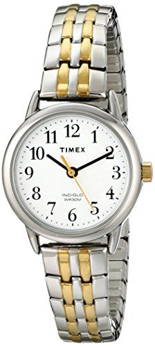 Women's Wrist Watches - Timex Womens T2P298 Easy Reader Dress TwoTone Stainless Steel Expansion Band Watch * Learn more by visiting the image link. (This is an Amazon affiliate link)