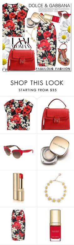 """Untitled #470"" by zhris ❤ liked on Polyvore featuring Dolce&Gabbana"