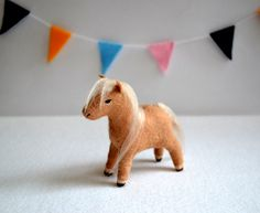 li'l sebastian - miniature horse - felt soft sculpture by royal mint by MountRoyalMint on Etsy https://www.etsy.com/uk/listing/84162204/lil-sebastian-miniature-horse-felt-soft