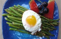 Asparagus with Fried Eggs | EatFresh #eatfreshCA