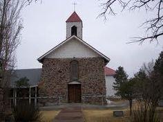 Our Lady of Guadulupe Church in Villanueva NM USA