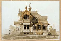 Gallery.ru / Фото #46 - Из Альбома архитектурных рисунков 1874-79 гг. - Olgica