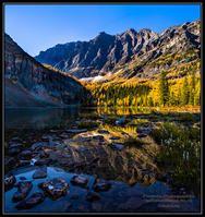 Autumn at O'Brien Lake