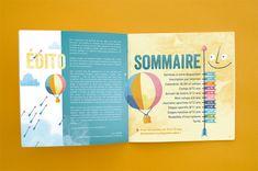 Proposition d'illustration et mise en page pour le livret séjours été de la ville d'Orvault - illustration - the Feebles