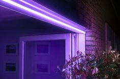 Smarthome App, Magenta, Smart Lights, Philips Hue, Garden Features, White Light, House Colors, Curb Appeal, My House